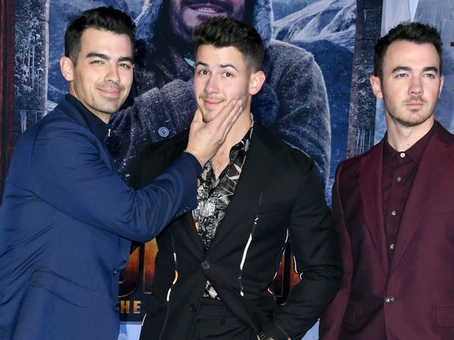 ​Sibling Love! Nick Jonas Gets the Support of His Brothers at the Jumanji Premiere