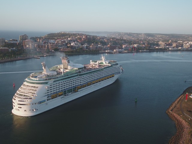 Explorer of the Seas makes maiden call to Newcastle, Australia