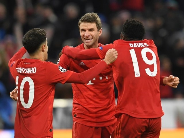 Champions League: Atletico Seal Qualification, Bayern Beat Tottenham