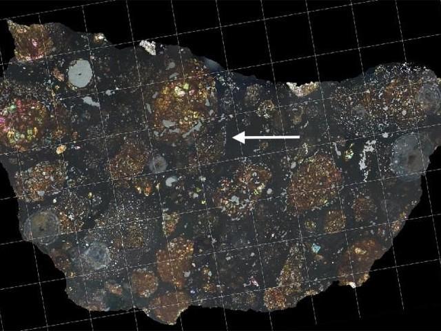 Origin Materials of Comets Found Inside Meteorite