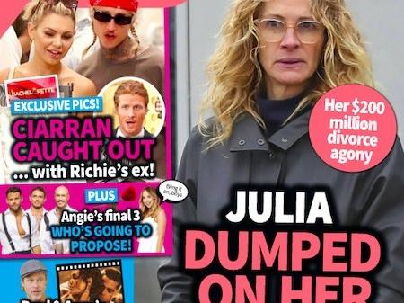 Julia Roberts, Danny Moder Headed For 'Blowout $200 Million Divorce'?