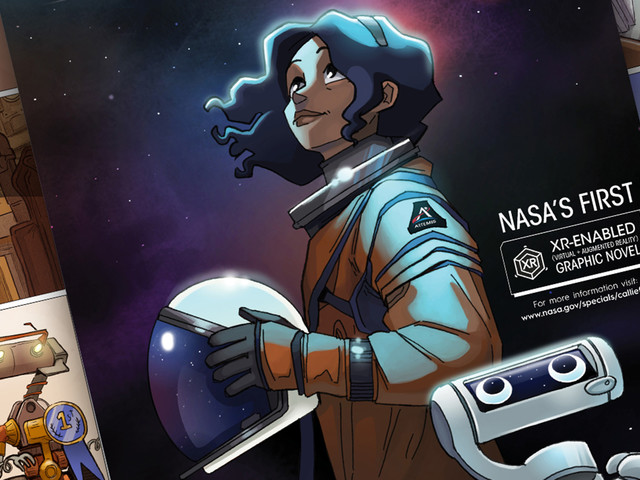 NASA's AR graphic novel is meant to recruit a new wave of astronauts