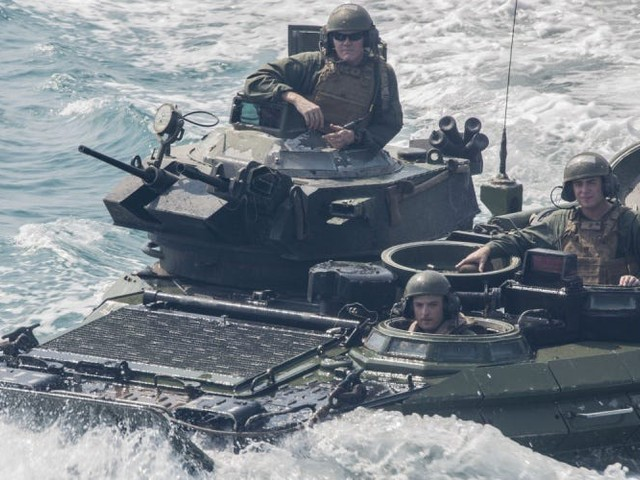 US troops had to use their phones as flashlights to try to escape a sinking assault amphibious vehicle that killed 9 of them