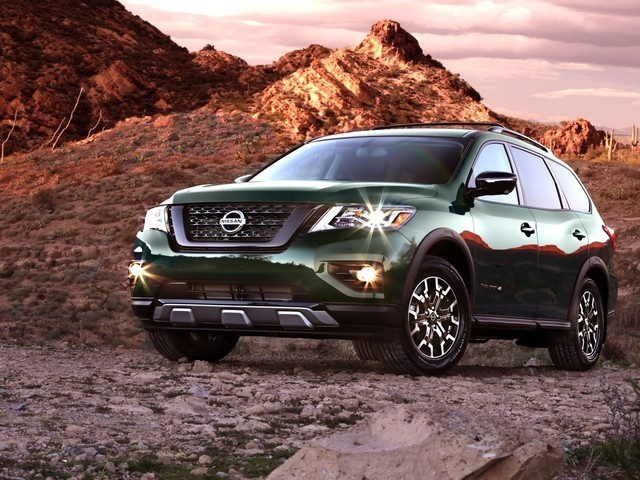 Nissan Adds Off-Road Looks To The Pathfinder with the Rock Creek Edition Package