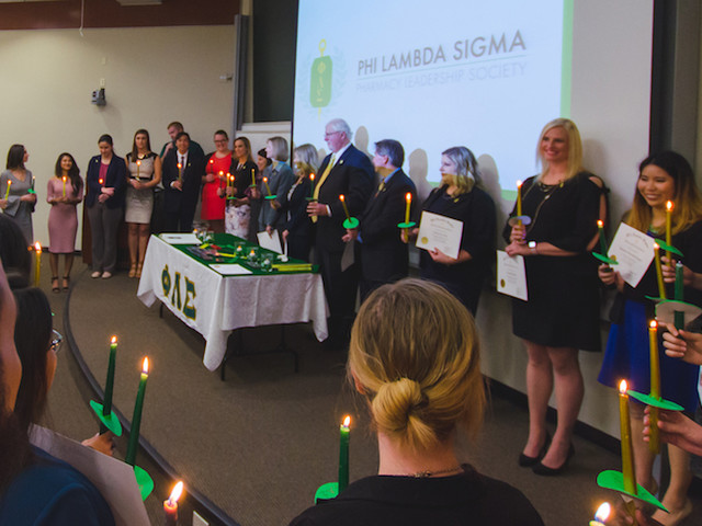 UF's Iota Chapter of Phi Lambda Sigma inducts 32 new members