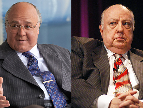 'The Loudest Voice' Cast vs. Real Life: See Russell Crowe As Roger Ailes & More