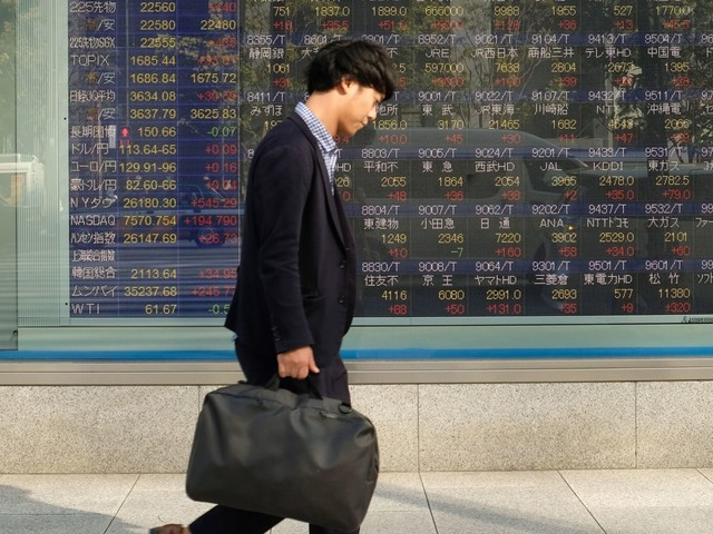 Asia stocks gain after Fed Chair Powell's comments and ahead of Trump-Kim summit