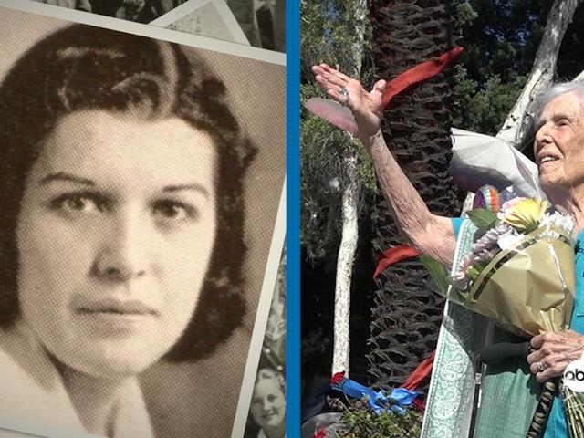 CENTENNIAL BIRTHDAY: East LA alum celebrates 100th birthday at former high school
