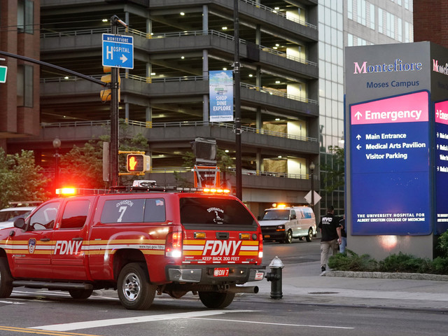 Fires break out at Montefiore Medical Center
