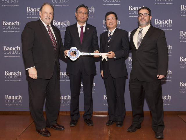 Baruch College Launches the New York Confucius Institute for Global Finance