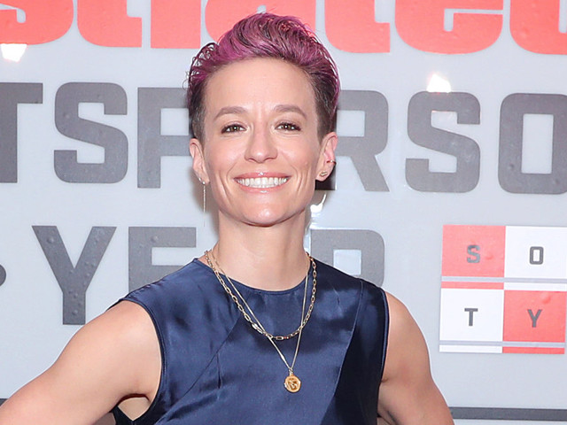 Megan Rapinoe wore Pantone's Color of the Year to the 2019 Sportsperson of the Year Awards