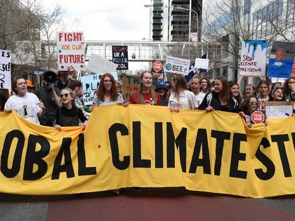'Climate strike' named Word of the Year