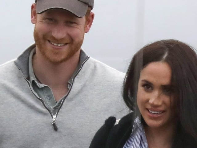 Prince Harry and Meghan Markle Make a Cheerful Appearance Following Their Royal Split