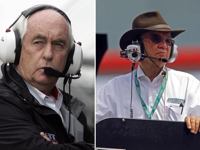 Penske, Roush named to NASCAR Hall of Fame