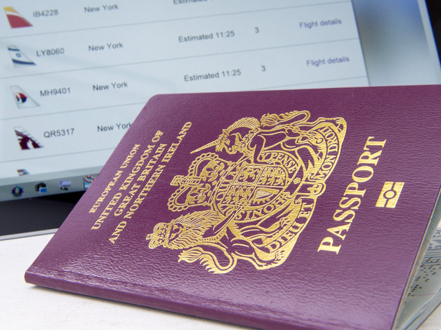 The Great Blue Passport Farce