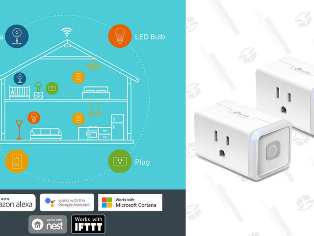 Automate Your Outlets With a Pair of TP-Link Smart Plugs, For a Low $20