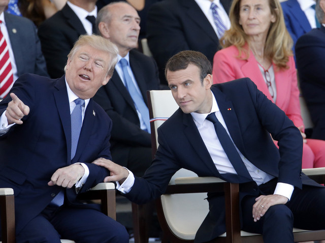 Macron touts 'special relationship' with Trump