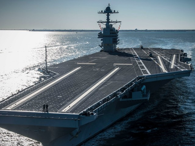 Lawmaker says the US Navy's failings on its new $13 billion supercarrier 'ought to be criminal'