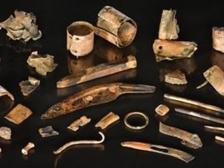 Archaeologists unearth a Bronze Age warrior's personal toolkit