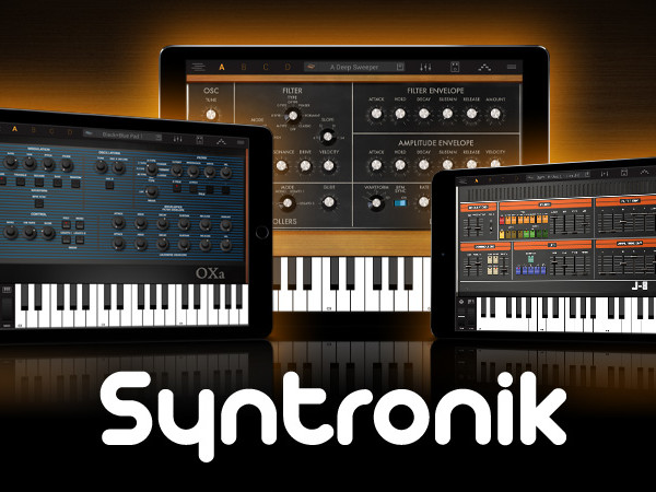 IK Multimedia bring us 17 virtual synths to recreate 38 iconic synths, all in your iPad