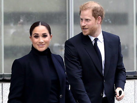 Meghan Markle & Prince Harry Looked 'Very Much In Love' During NYC Visit To UN: Video & Photo