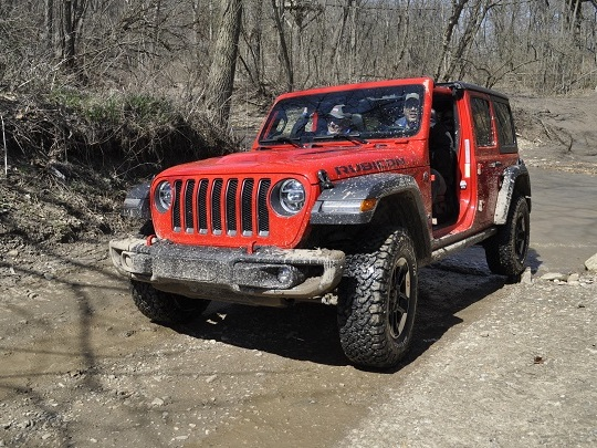 2018 Jeep Wrangler Capable Off-Road; In Other News, Water Wet