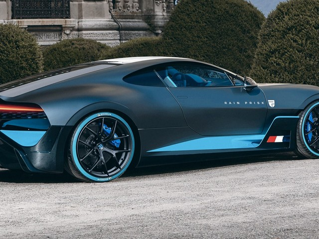 The Bugatti Divo Actually Looks Good As A Front-Engined GT
