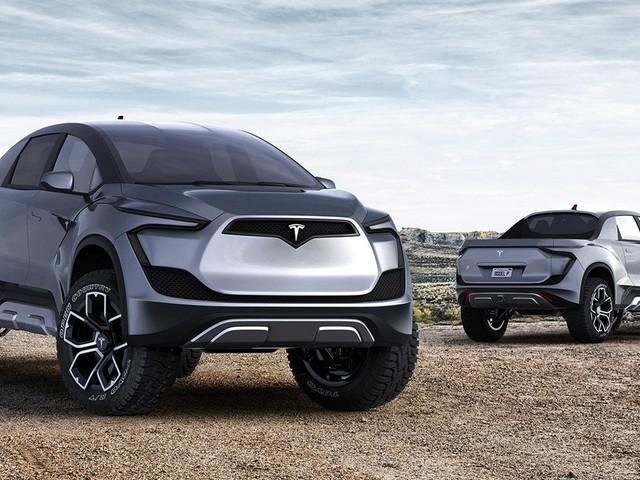 """We'd Love To See Tesla's """"Blade Runner"""" Pickup Look Like This"""