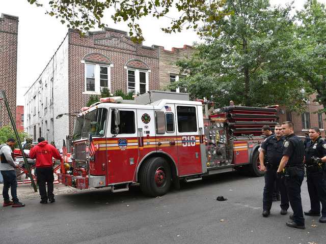 Man found in Brooklyn fire was actually stabbed to death: cops