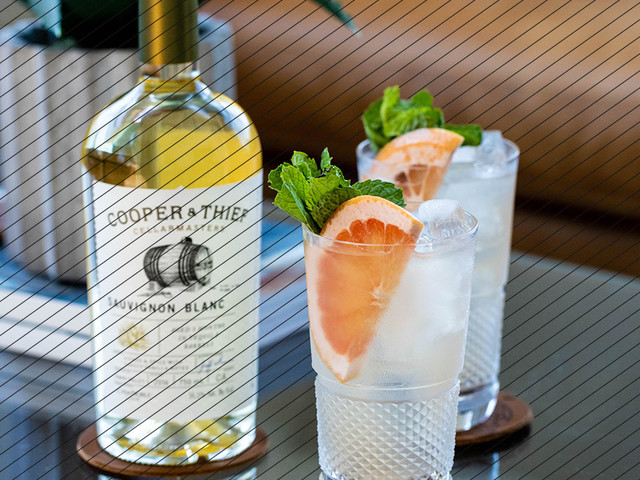 Drink DuJour: Cooper & Thief White Wine Paloma