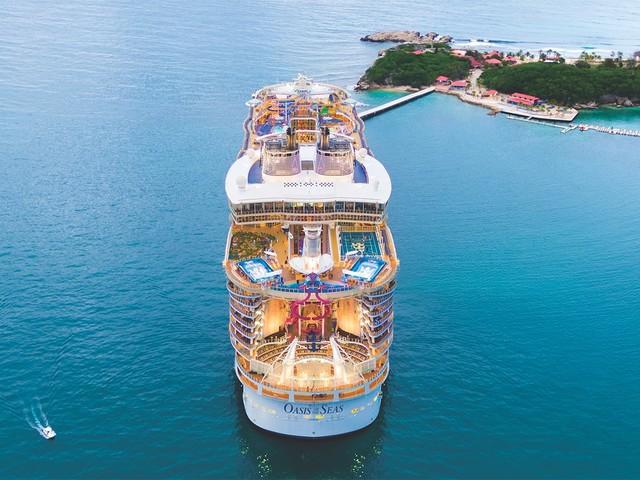 Royal Caribbean announces Oasis of the Seas $165 million amplification details