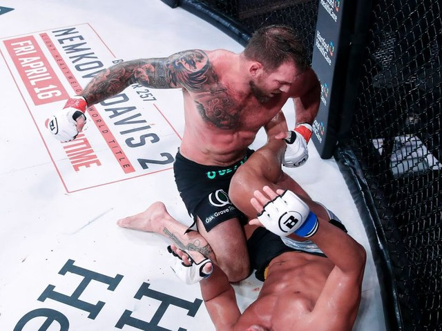 Bellator 256 results: Bader outwrestles Machida to win decision