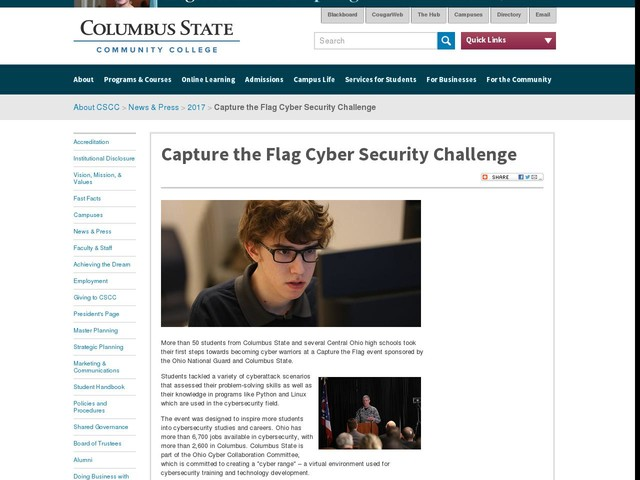 Capture the Flag Cyber Security Challenge