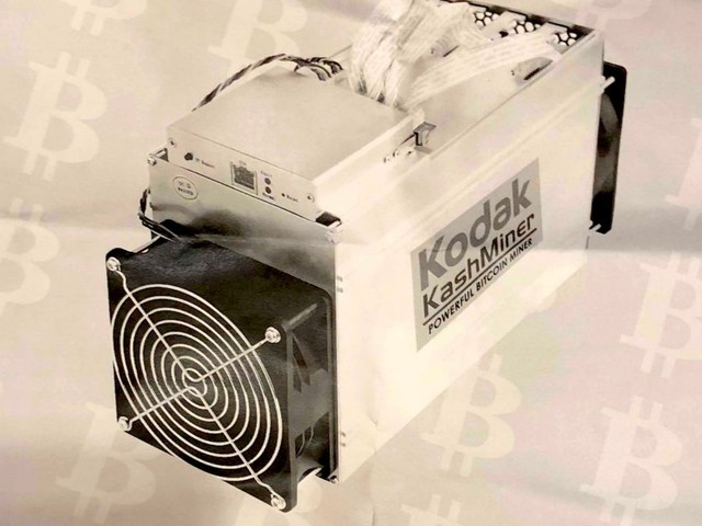 You can now rent a Kodak-branded bitcoin-mining rig — but you'll have to hand over half of the profits you make (KODK)