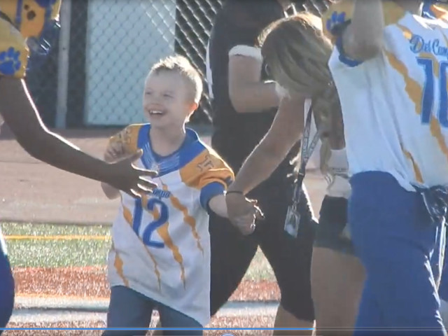 Roseville Boy's Football Dreams Come True With Memorable Touchdown