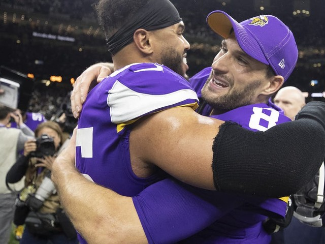 A playoff win may have doomed the Vikings' future