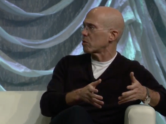 Jeffrey Katzenberg's streaming service Quibi is doing a show about Snapchat's founding