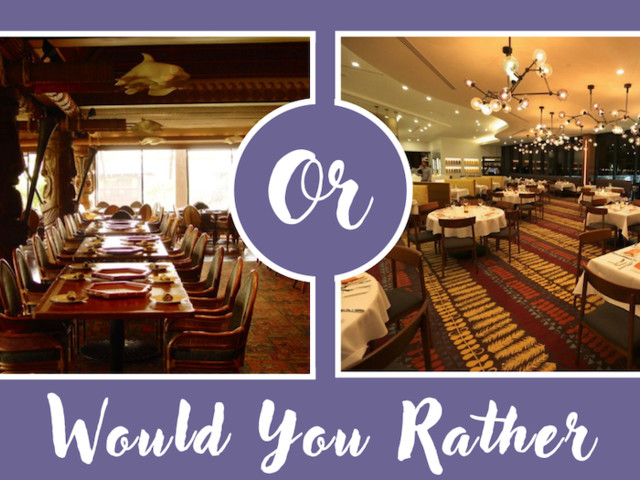 Would You Rather 'Ohana or California Grill?