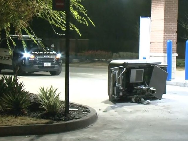 Chase Bank ATM targeted in Oak Forest
