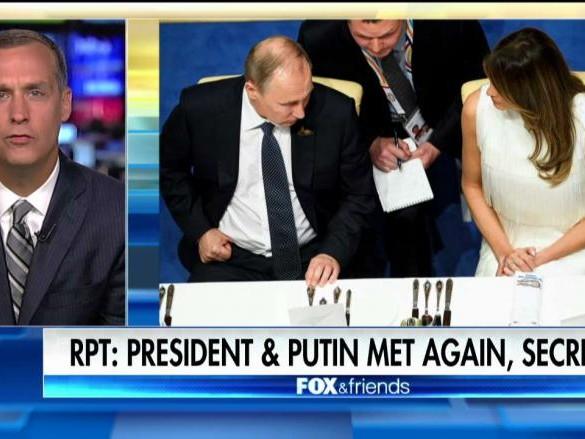 Trump-Putin Secret Dinner Meeting; Lewandowski Blasts Reports