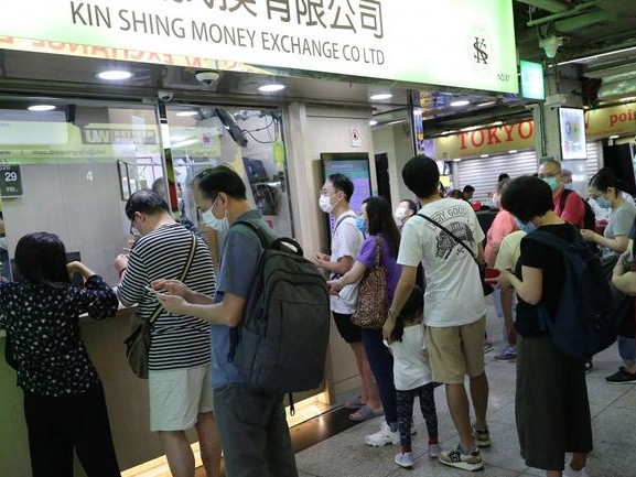 """""""The Dollar Is Out Of Stock Everywhere"""": Hong Kong Money Exchangers Turn Away Clients Amid Run On US Dollars"""