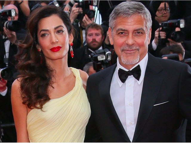 "George Clooney Gushes Over Twins and Reveals Why He Gave Them ""Normal"" Names"