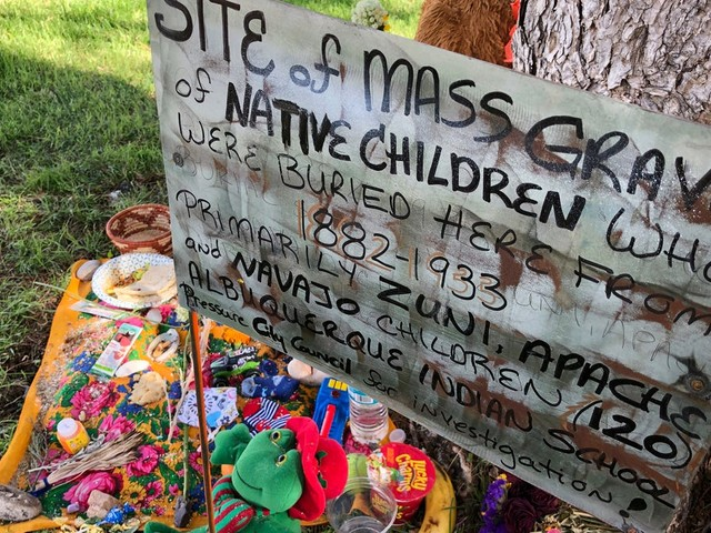 In a New Mexico park, the buried bodies of Native American children are evidence of genocide