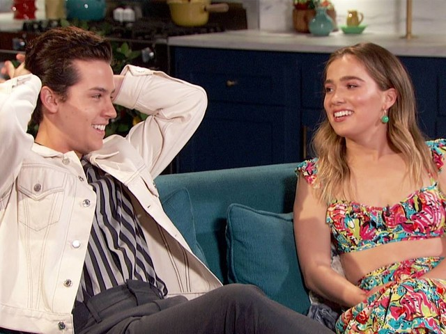 Cole Sprouse & Haley Lu Richardson Went to Strip Clubs Together