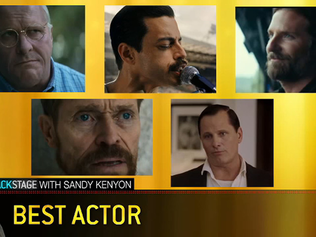 4 Oscar veterans, 1 newcomer vie for Best Actor at this year's Academy Awards