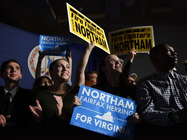 Historic turnout of young voters in Virginia election poses problem for Republicans