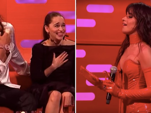 Camila Cabello Went Full Game of Thrones Fangirl Meeting Emilia Clarke and Jason Momoa