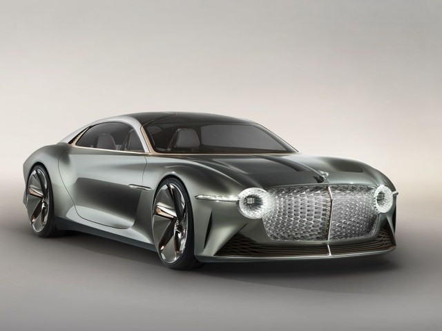 Bentley's Newest Concept Car Has An AI Butler