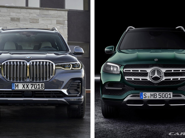 2020 Mercedes GLS Vs. 2019 BMW X7: Which Side Are You On?