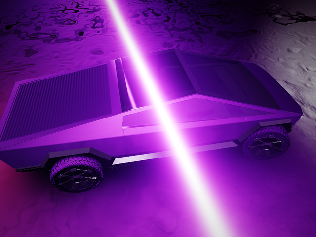 Elon Musk's Cybertruck is already rendered in Shadertoy 3D code